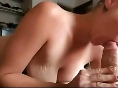 nice big saggy boobs gets anal