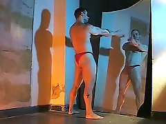 Horny male in amazing hunks gay porn movie