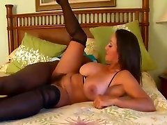 Hairy mature does a quick fuck