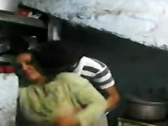 Indian Bhabhi fuck in the kitchen
