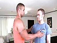 Satisfying gay blow job stimulation