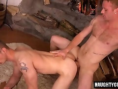 Big dick gay dp with cumshot