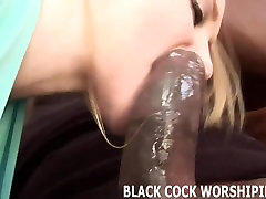 His big black cock is really going to beat up my pussy
