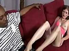 Black Meat White Feet - White Slutty Girl Foot Fetish Porn 14