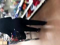 Big booty gilf in black dress pants 2