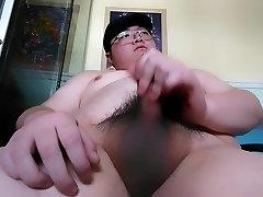 Chubby guy&039;s 28th cumshot