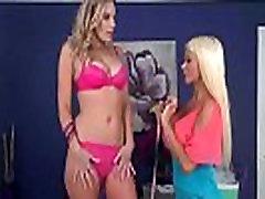 Hot Lesbian Sex Scene With Lovely Milfs Brianna Ray &amp Nikita Von James video-26