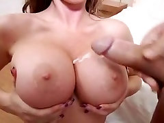 Busty Jenna Presley fucked and cummed on