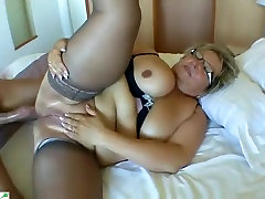 Incredible Amateur record with Stockings, Fingering scenes