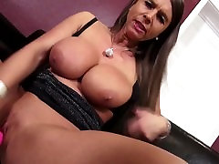 Perfect MILF with big milky tits