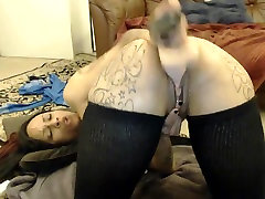 Big Tits Big Ass Ebony Deepthroats Dildo