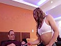 Small-tittied ladyboy slut in act