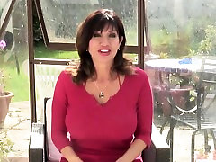Posh mature sex bombs with perfect Sheilah from dates25com