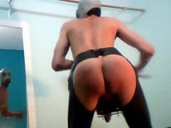 self spanking daily training. First video!