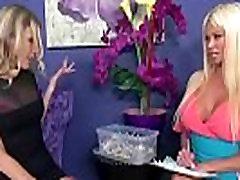 Mature Lesbians Brianna Ray &amp Nikita Von James Play In Front Of Camera vid-22