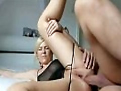 Homemade Hot Blonde Gets Painful Anal Sex From Big Cock46