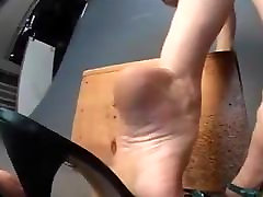 Bare Feet In Open High Heels 29