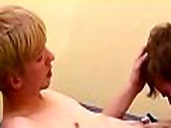 Young gay lad sucks cock
