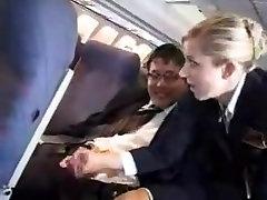 Красивая стюардесса дрочит пассажиру, русское порно зрелые попки