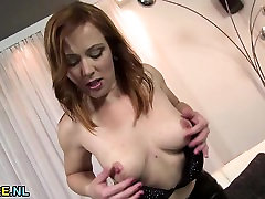 Hot mature toying herself