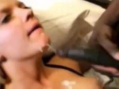 cute wife gets her first black cock