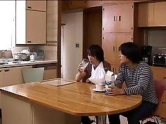 Japan Amateurs mom I will wash you back