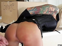 Tattooed Wife Bound and Fucked up