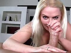 Blonde milf handjob pov hd