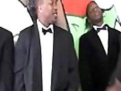 Nasty interracial hardcore sex gangbnag party fuck movie 05