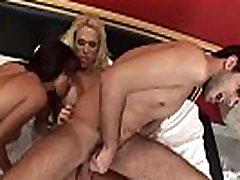 Shemale threeway anal bareback