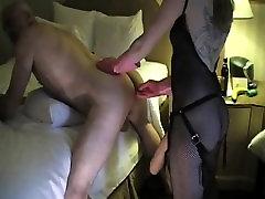 Femdom fetish mistresses fuck pornstar lesbian pmv loser with strapon