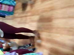 Amazing big ass ebony candid