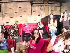 Horny Girls Suck Cock At swallow vomit Party