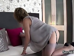 Unfaithful british mature lady sonia flaunts her heavy knock