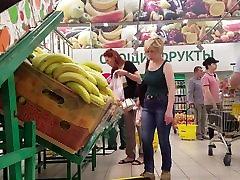 Hot mature ass choose banana