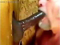 Eating Black Cum Gloryhole