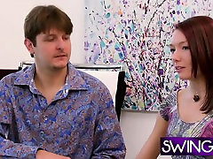 Swingers getting to know each other in reality show