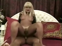 Horny amateur shemale movie with Blonde, Blowjob scenes