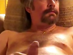 Homemade Video of Mature Amateur Jack Beating Off