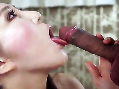 Asian Queen Blows And Swallows