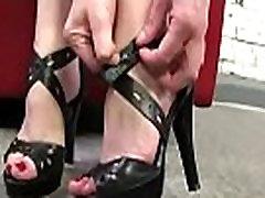 Black Meat White Feet - Interracial Feet Fetish Video 24