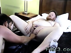 Fisted gay twink photos Sky Works Brocks Hole with his Fist
