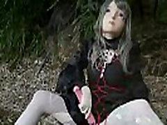 Kigurumi Self-bondage Public Nudity Outdoor