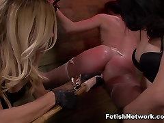 Fabulous pornstars Mila Blaze, Brooklyns Daniels, Brooklyn Daniels in Crazy College, BDSM sex video