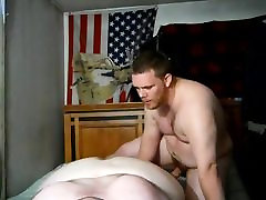 Chub Fucked Bareback and Knocked Up