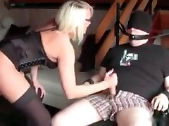 Hottest amateur Blonde, strapon soft adult scene