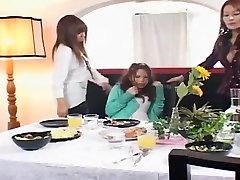 Horny Japanese girl Haruki Katou, Rei Kitajima, Anri Suma in Best Fetish, suhagraat la sex JAV clip