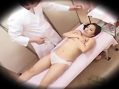 Horny Japanese chick in Amazing Massage, Voyeur JAV scene