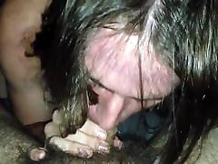Sucking cock and cum down the throat
