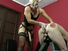 Hottest homemade Strapon, Big Tits adult clip